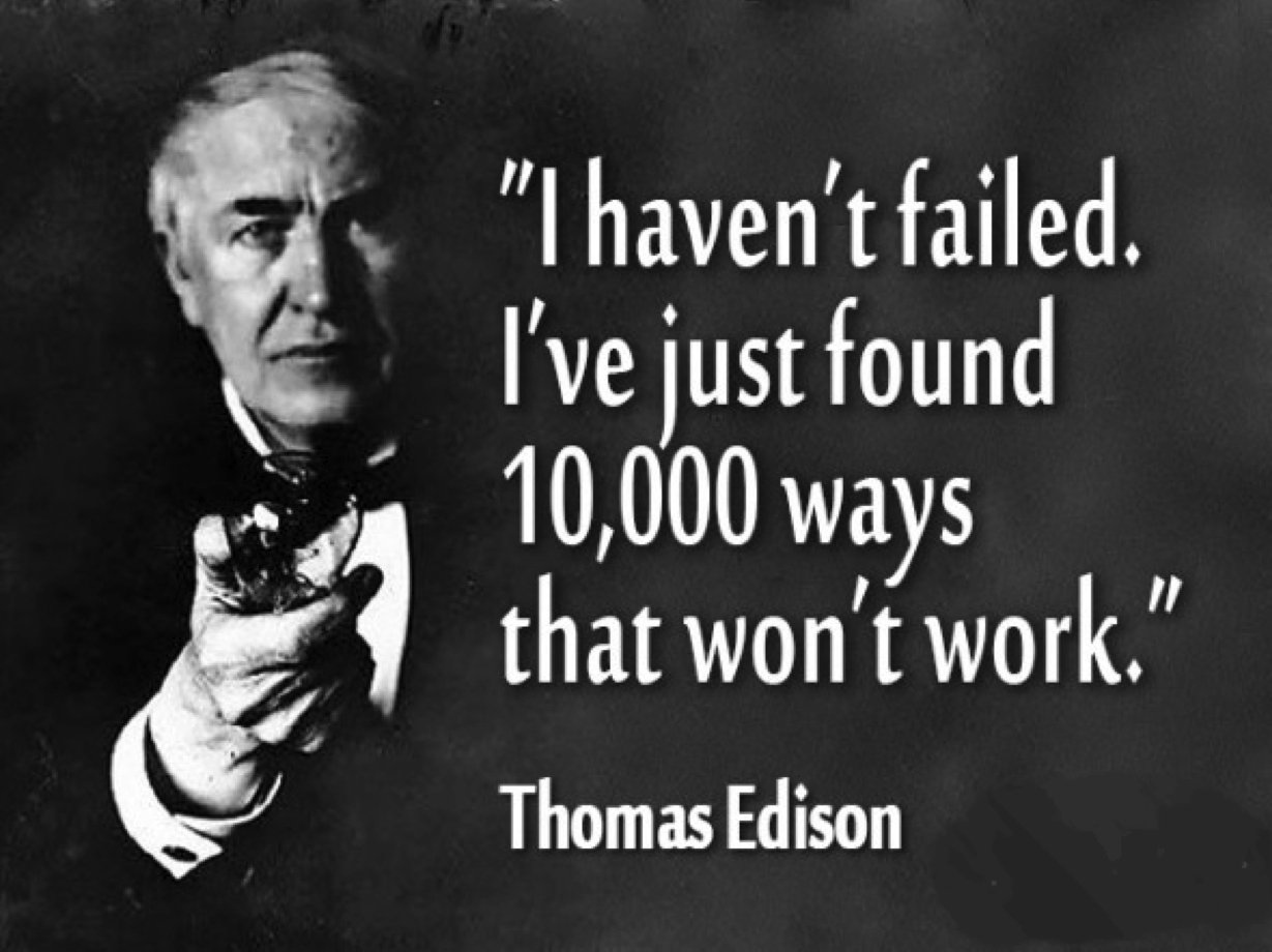 Image result for thomas edison thinking building