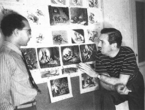 walt disney as critic