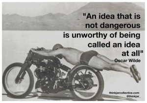 Oscar Wilde Quote on dangerous ideas