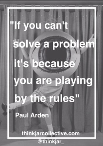 Paul arden quote on creativity