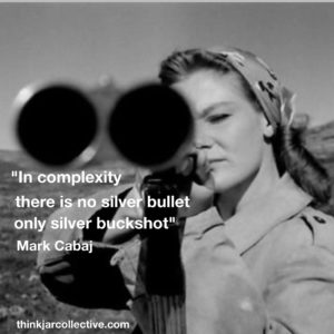 Mark Cabaj Quote on Complexity
