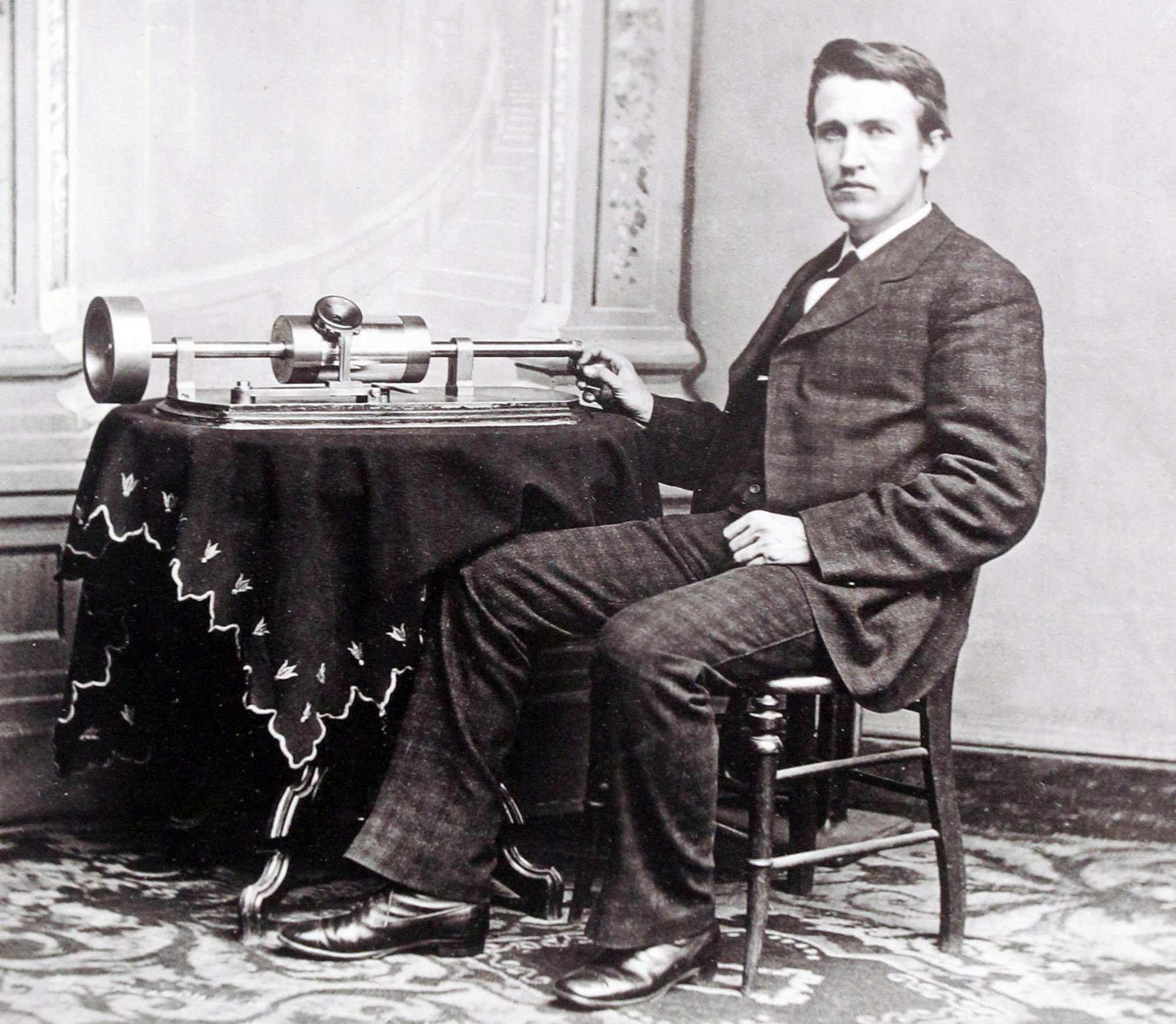 Edison Biography  Thomas Edison Home Page