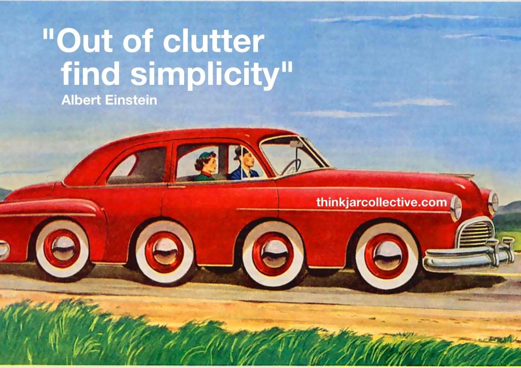 Albert Einstein quote on simplicity