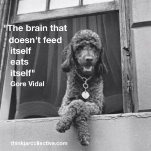 Gore Vidal Quote on the brain and creativity