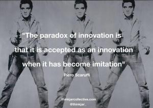 Piero Scaruffi quote on innovation