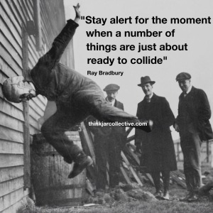 Ray Bradbury quote on creativity and innovation