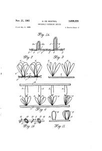 Mestral velcro patent