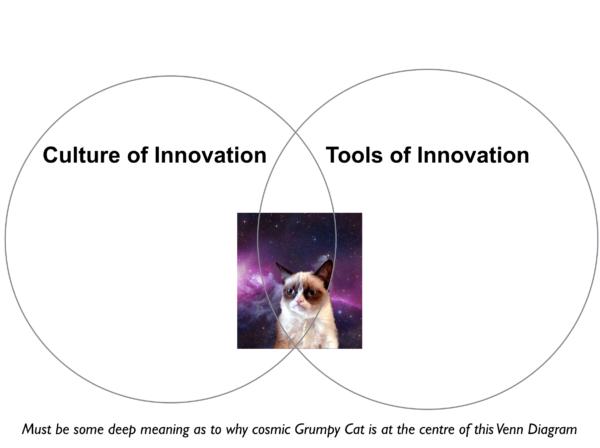 Grumpy cat on creative culture and innovation